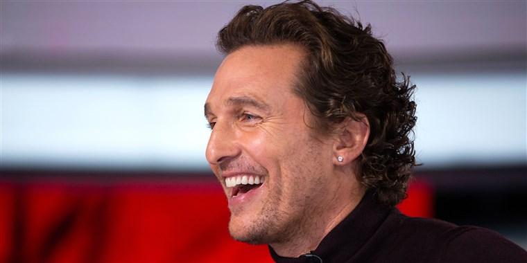 Matthew McConaughey motyvacija